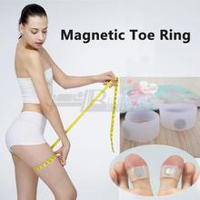 1Pair/Lot Silicone Foot Massage Magnetic Massager Toe Ring Fitness for Health Slimming Loss Weight Feet Care
