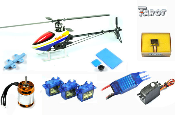 Tarot 450 PRO Advanced Edition TL20003 with brushless motor ,40A ESC,servos , gyroscope ship by business delivery(China (Mainland))