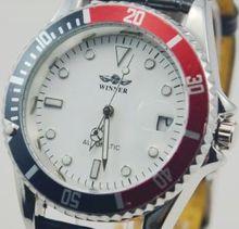 Ganador fully reloj mecánico automático reloj para hombre impresionante de tabla de moda j201