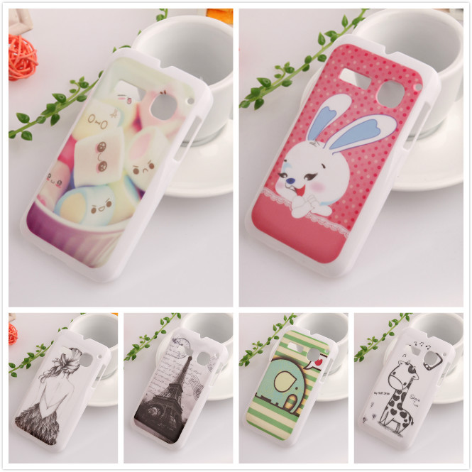 1X Phone Accessories PC Plastic Hard Protection Skin Back Cover Shell Case For Alcatel one touch S'POP OT 4030D(China (Mainland))