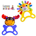 teething blankie Baby care baby handkerchief  teether handkerchief NB6568 lowest price clearance