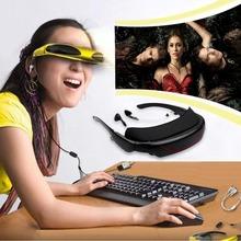 Excelvan 72 pollice virtuale digital video vetri portatili teatro personale wide screen per la tv box festa per gli occhi occhiali(China (Mainland))