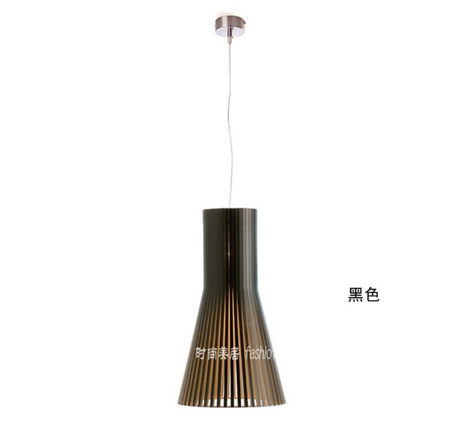 Bedroom lamp modern Design Wood pendant lights Height 60cm suspension ...