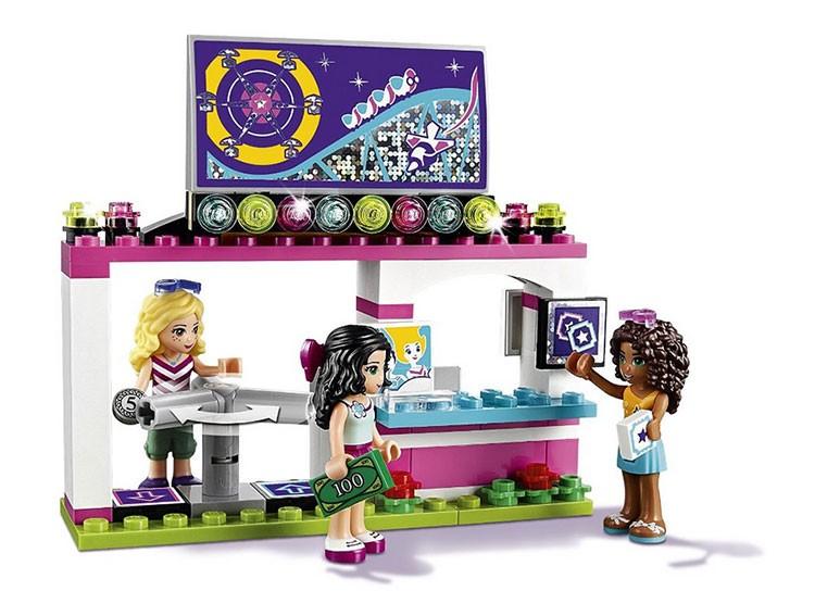 LEPIN 01008 1124Pcs Amusement Park Curler Coaster Constructing Block Minifigures Blocks Bricks Toys legoe mates for woman 41130