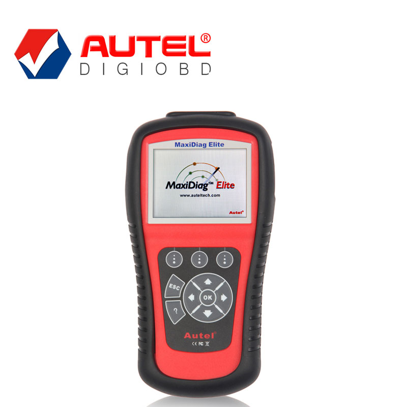 Autel Maxidiag Elite Md802 Full System Auto Diagnostic Scanner with Data Stream Code Reader for Asian European USA Vehicles(China (Mainland))