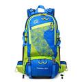 45L External Frame Waterproof Hiking Backpack Women Men Outdoor Mountain Camping Climbing Travel Backpacks Sport Back