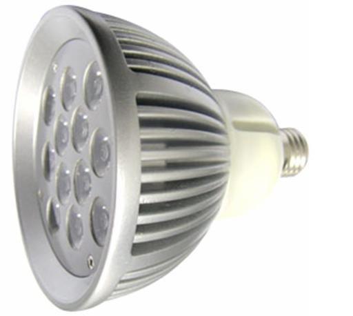 12*1W LED Par light;PAR38 base;120mm*120mm;cold white color;P/N:CMR-E27PAR38-0112