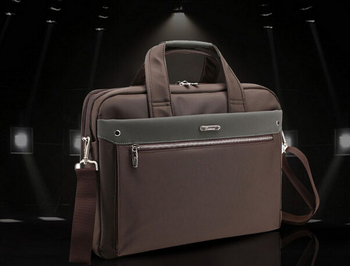 9670 new business bag,computer bags,one shoulder bag, 100% genuine leather,men's leisure brief case, FREE SHIPPING