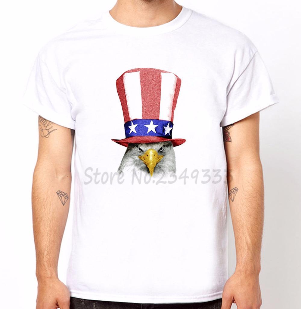 American Eagle Print Men t shirt Fashion tshirts For Man Short Sleeve Modal Top Tee Hipster Funny Drop Ship SH 179(China (Mainland))