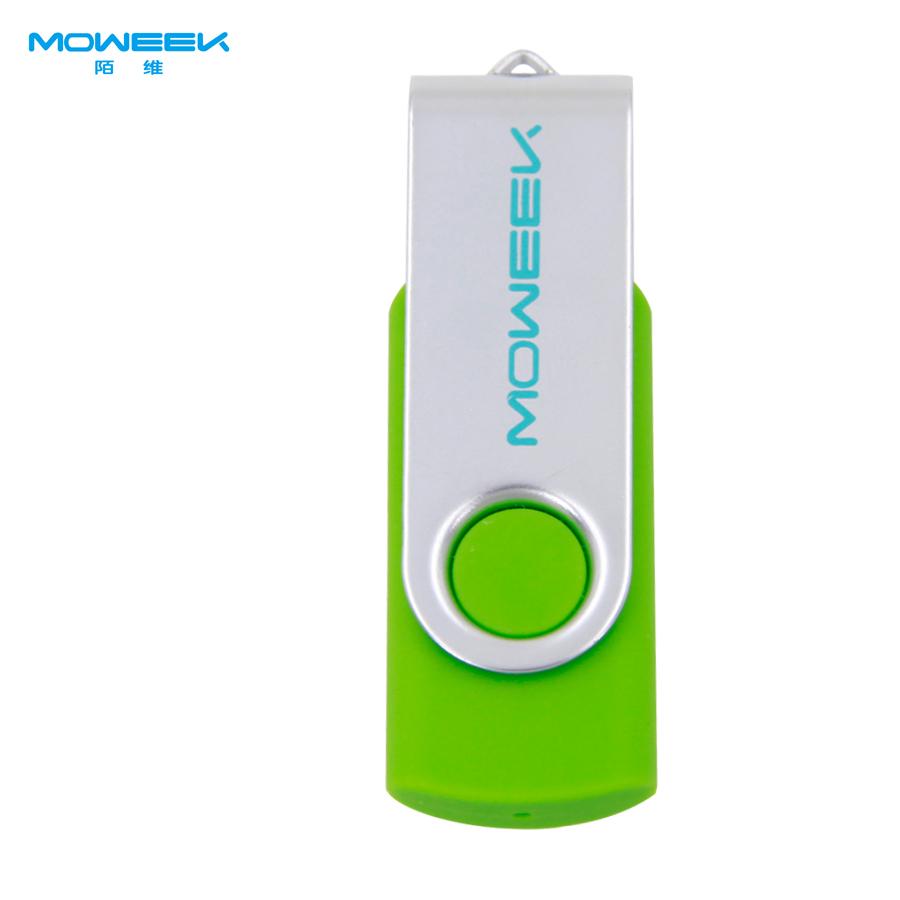MOWEEK M01 High quality 16 GB USB flash drive fashion rotate pen drive real capacity USB 2.0 u stick good gift(China (Mainland))