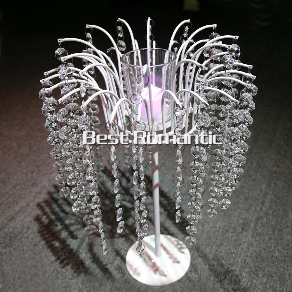 Cm tall pcs flower design metal wedding centerpiece