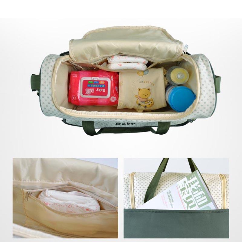 Мода портативный пеленки младенца мешок для мамы бренд многофункциональный