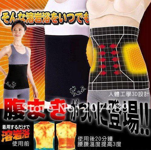 Lost Weight Shape-up Calf Anti Cellulite waistband belt Slimming  Belt slimmer abdominal diet band Wrap CN post