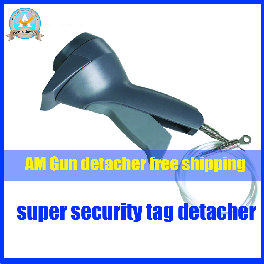 Portable eas AM security tag detacehr with strong ABS material and detacher hook inside,super AM tag remover eas free shipping(China (Mainland))