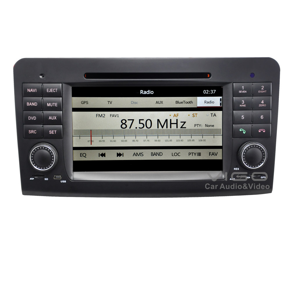 Car stereo gps navigation for mercedes benz ml gl class for Mercedes benz car radio repair