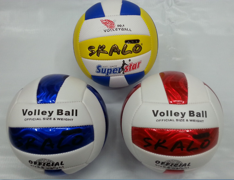 New Arriver Profession Official Game Volleyball Size High Quality Size 5 PU leather Volleyballs Training Ball Free Shipping(China (Mainland))