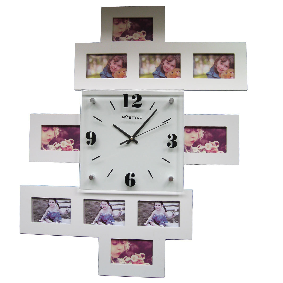 Настенные часы своими руками 8