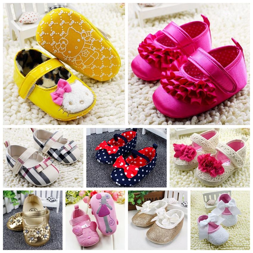 Гаджет  Baby flower rose Girls Princess Shoes leopard newborn prewalker Soft Sole First Walkers 0-12month infant sapatos anti-skid R4215 None Детские товары