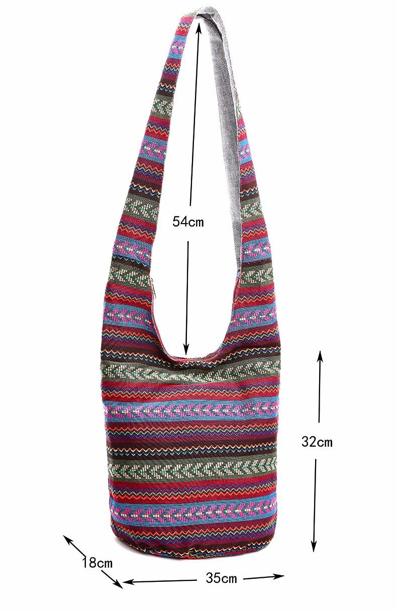 Wholesale Bohemian Women Shoulder Crossbody