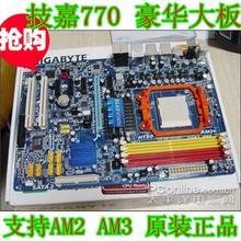 Твердые ga-ma770-s3p MA770-S3P материнская плата am2 am3 DDR2 770 USB2.0 770-us3 хорошо испытанная деятельность