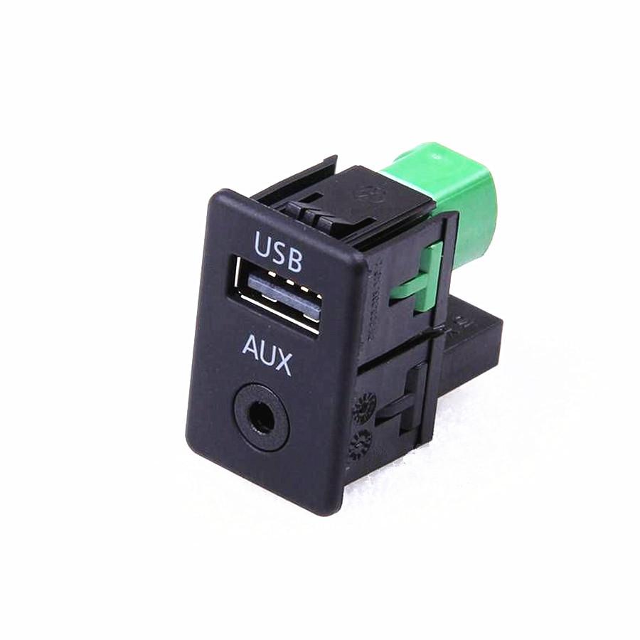 RCD510 RNS315 OEM Armrest USB+AUX IN Switch VW Passat B6 B7 CC Tiguan 3CD 035 249 249A 3CD035249A  -  JinGuan Auto Parts store