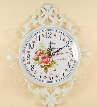 032033 wall clock in wall clocks safe modern design digital vintage large led kitchen decorative mirror Creative sitting-room(China (Mainland))
