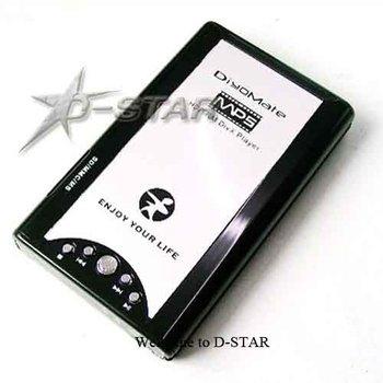"Free Shipping (via EMS) 6pcs 2.5"" SATA HDD Media Player HP-3225A Support RMVB RM"