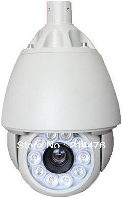 720P Mega Pixel High Speed Dome Camera with IR Illumination<br>