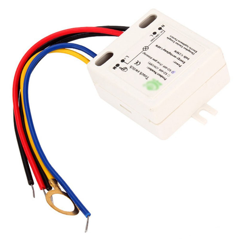 Practical XD-609 4 Mode On/Off Touch Switch Sensor For 220V LED Lamp(China (Mainland))