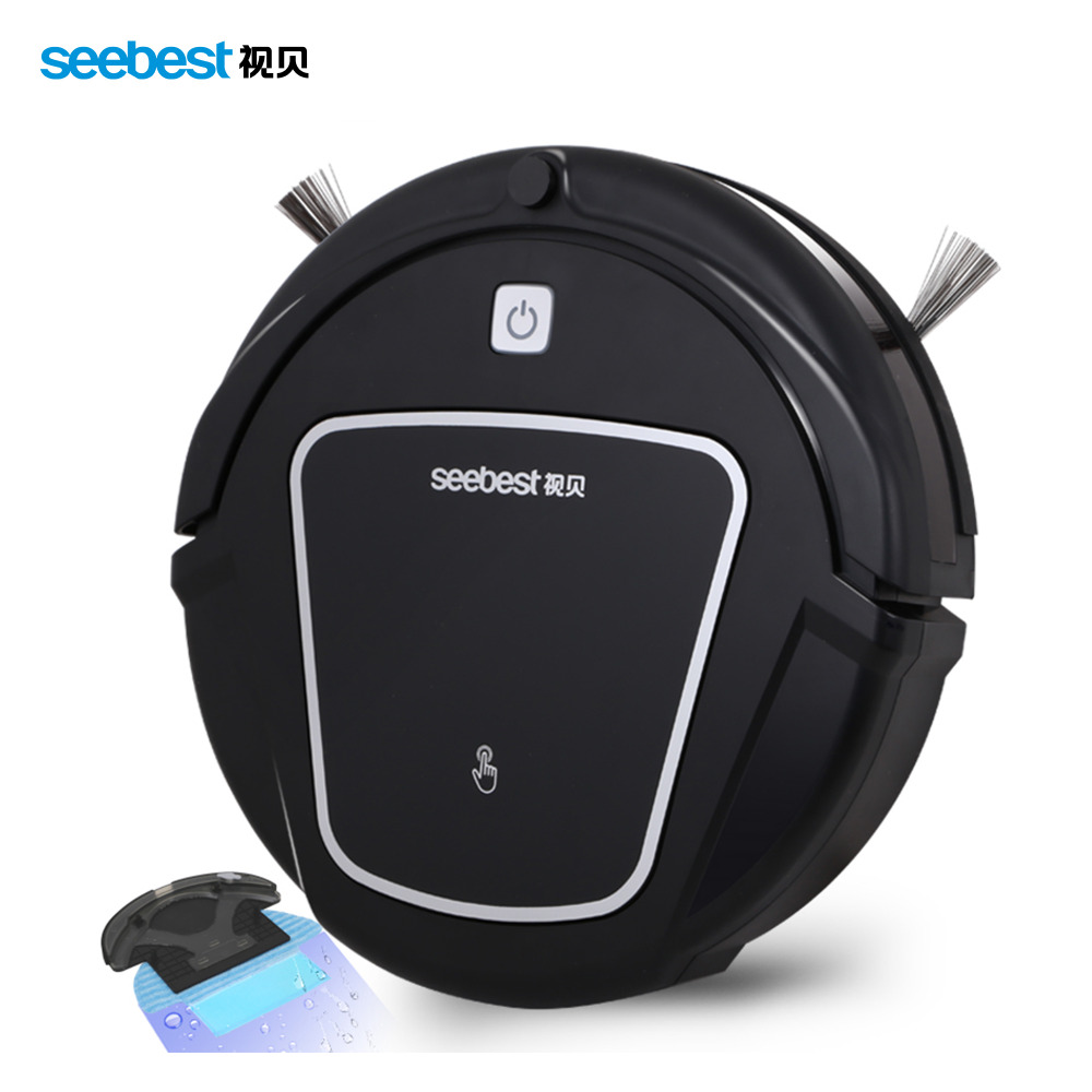 (Russia Warehouse)Seebest D730 New Arrival Robot Vacuum Cleaner with Big Suction Power Wet and Dry Mopping Function(China (Mainland))