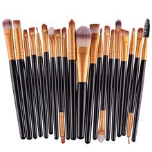 20Pcs Makeup Brushes Set Pro Powder Blush Foundation Eyeshadow Eyeliner Lip Cosmetic Brush Kit Beauty Tools(China (Mainland))