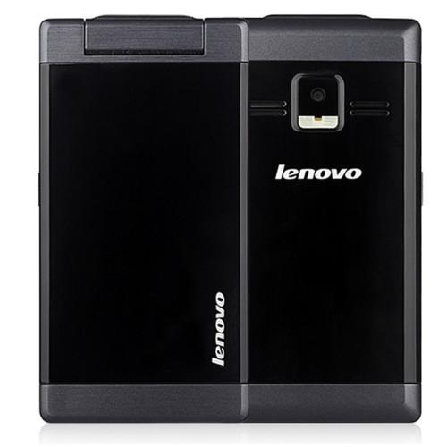 Dual SIM Original Lenovo MA388 3.5 inch Business Elders senior Flip Mobile Phone with Camera Bluetooth GSM Network Black Color(China (Mainland))