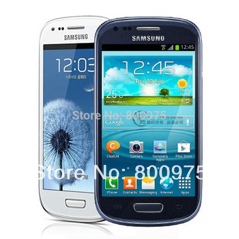 Original Refurbished Samsung i8190 Galaxy S3 Mini Cell Phone SIII Dual-core Android Phone 3G 5MP 8GB Wifi Unlocked )