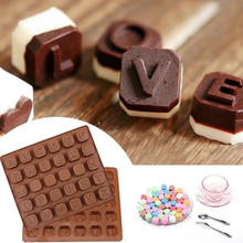 Buy Cake Tools Letters Chocolate Mold 1PCS Mini Silicone Cake Mold Jelly Pudding Mold Baking DIY Handmade Soap Mold D3 for $2.88 in AliExpress store