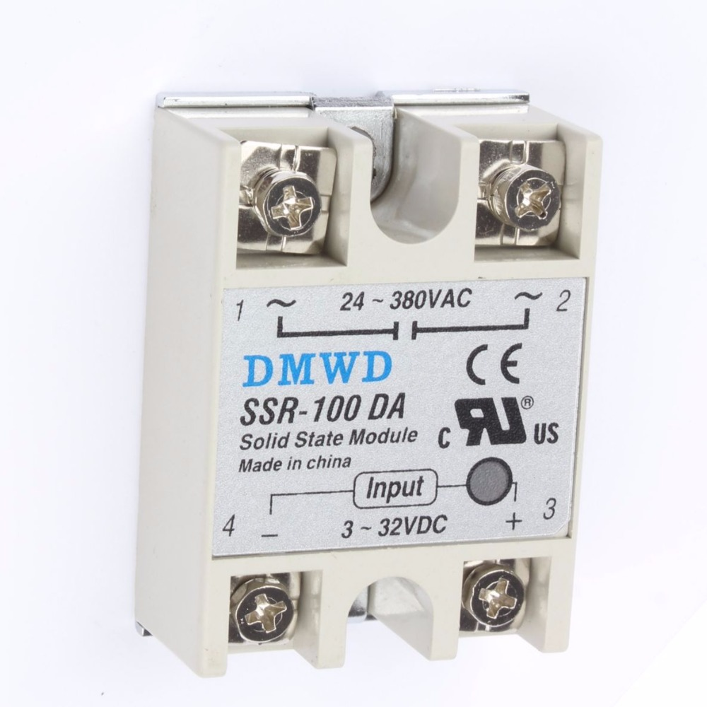 Top Brand Dmwd 1pcs Solid State Relay Ssr 100da 100a 3 32v Induction Cooker Pcb Circuit Diagram Electricalequipmentcircuit Img 0206 0222