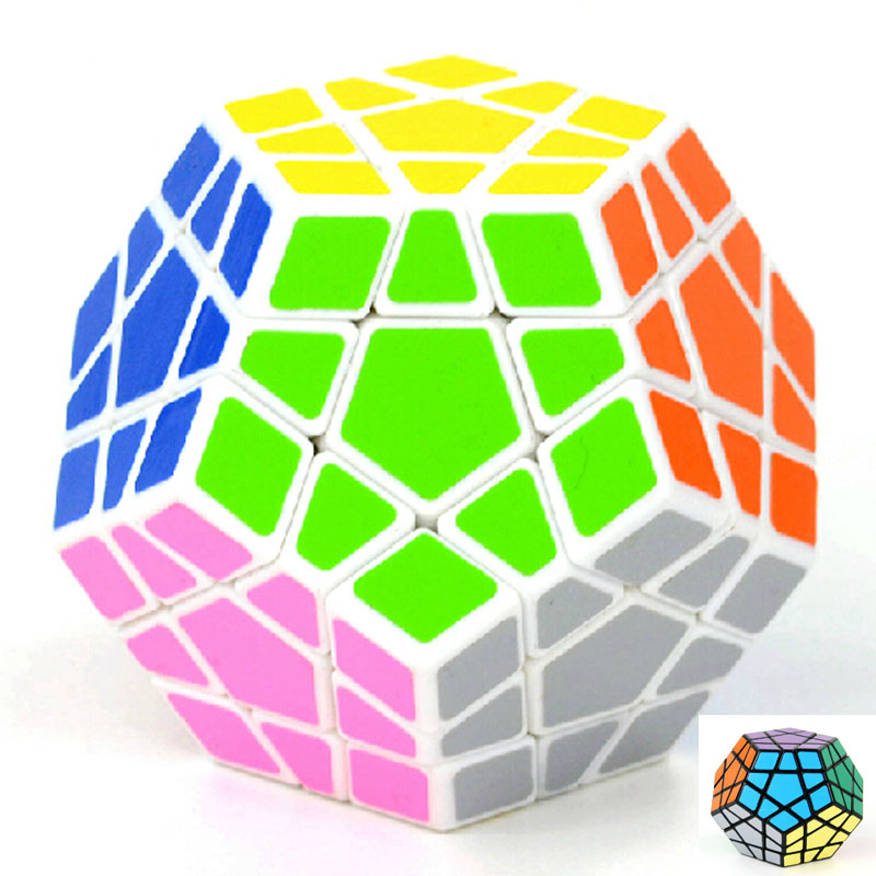 New Brand High quantity Shengshou Megaminx Dodecahedron magic Cube special Cubes Puzzles Toy Twist Magic0 Square Cubo(China (Mainland))