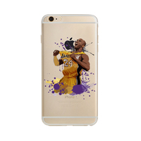 For iPhone 6S Case NBA Legends Kobe Bryant Los Angeles Lakers Back Cover Protective Case for iPhone 6 / 6S 4.7 inch