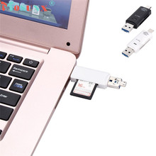 Buy Reliable Type C USB 2.0/Micro USB Adapter SD/Micro SD Card Reader Smartphones/PC Type C port + USB-A port + Micro USB po for $2.79 in AliExpress store