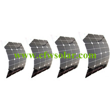 Factory price  sunpower flexible solar 200W(4*50W), size 555*535*3mm for each panel with 0.9M cable MC4 connector.