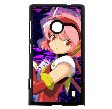 Custom Anime Series Phone Case Hikaru misaki Angelic Layer Hard Plastic Cover for Nokia Lumia 520(China (Mainland))