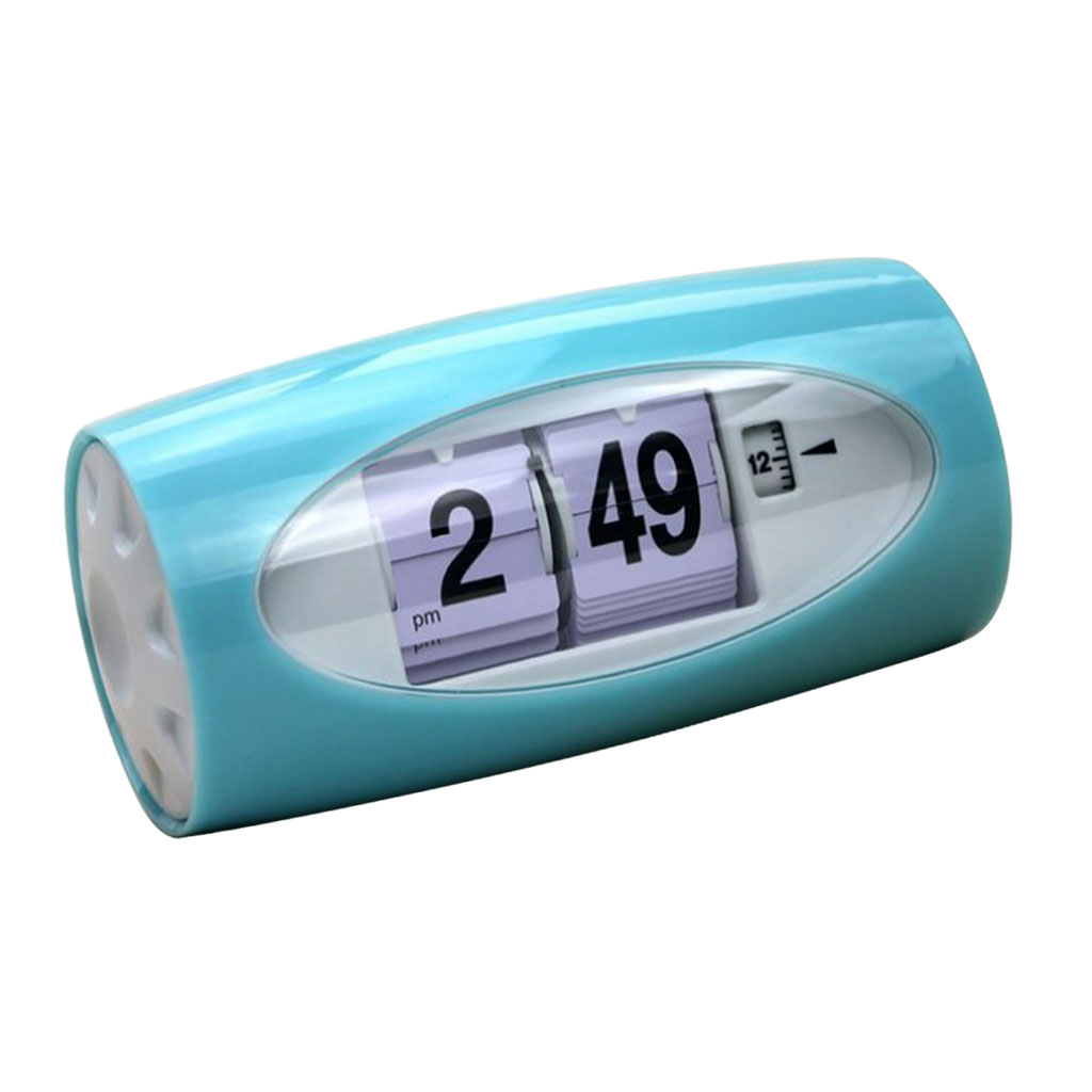 Auto Flip Clock Table Alarm Clock Kids Retro Classic Watch Home Bedroom Decor Desk Clock Digital Table Clock