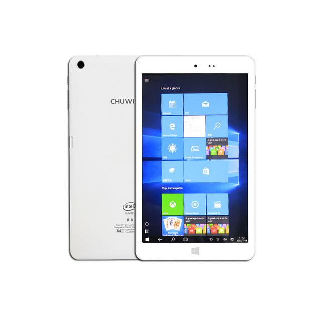 8'' Win10 Chuwi HI8 Dual boot tablets Intel Z3736F Quad Core Windows 10+Android 4.4 pc tablet 2GB/32GB 1920*1200 multi language