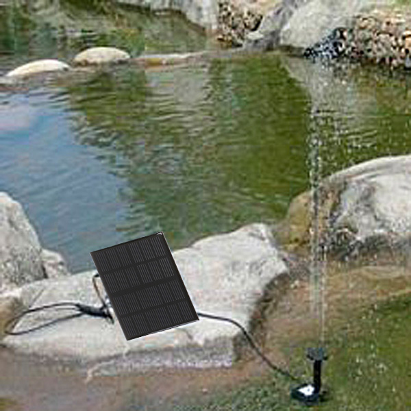 High Efficiency Garden Brushless Solar Water Pump For Water Cycle/Pond Fountain/Rockery Fountain Dropshipping(China (Mainland))
