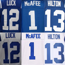 #12 Andrew Luck Jersey #13 T.Y. Hilton #1 Pat McAfee Jerseys(China (Mainland))