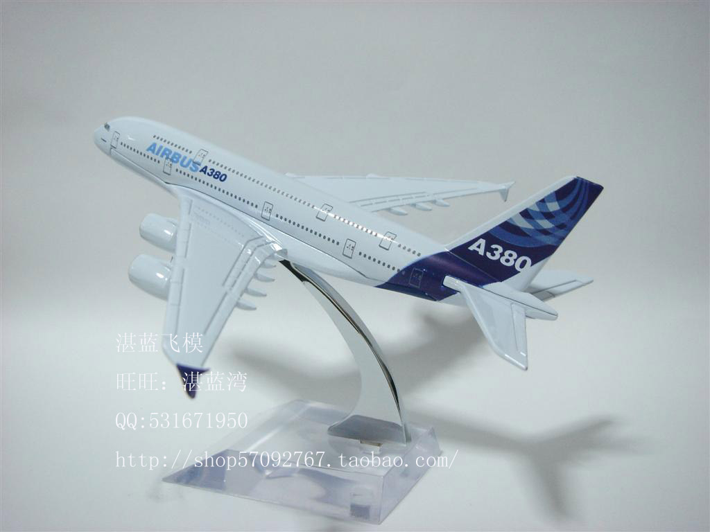 14cm Airplane Plane Model Airbus A380 Airline Aircraft Model Diecasts Toy Vehicles Collection Decoration(China (Mainland))