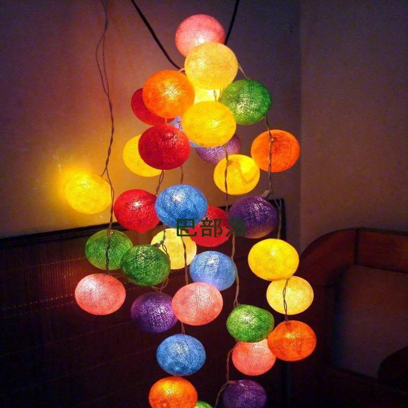 colorful new year decoration - photo #11