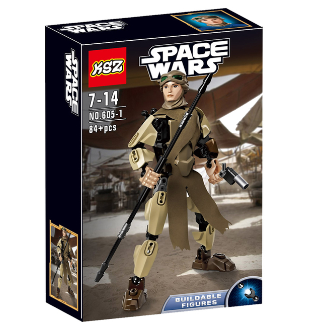 Star Wars Rey Building Blocks
