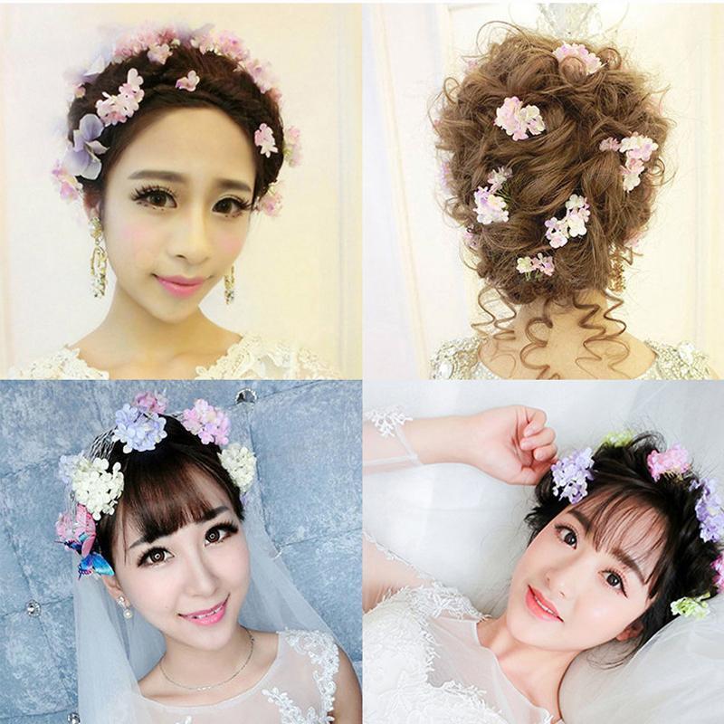 Preserved Fresh Flower Hair Pins Women Hair Clip Flowers Hair Accessories Wedding Headpiece Bridal Hairstyles Hair Pins A0(China (Mainland))