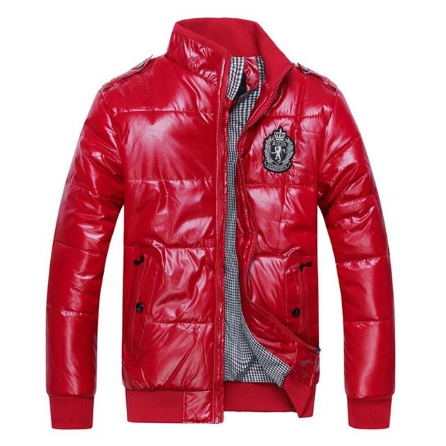 Мужчины зимой пальто теплая хлопка-ватник мужской мода водонепроницаемый наружный ...