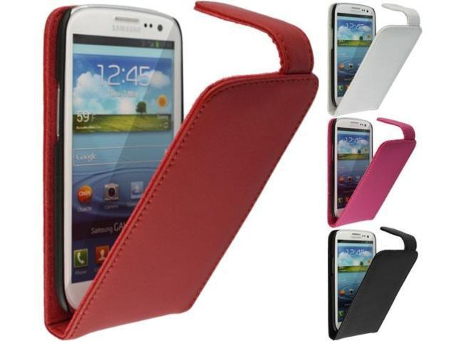 Doormoon Leather Flip Case For Samsung Galaxy S3 S 3 III i9300 I9308 Cases Cover 4 Colors+Screen Protector Free Shipping